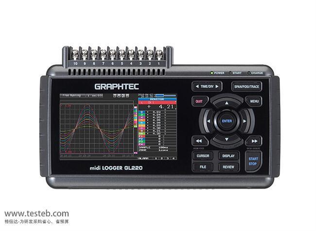 图技Graphtec GL220数据采集器/温度记录仪