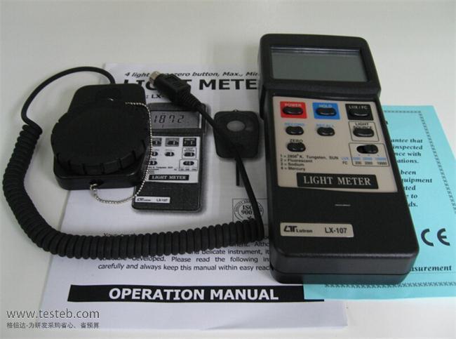 国产品牌辐照度计LX-101A