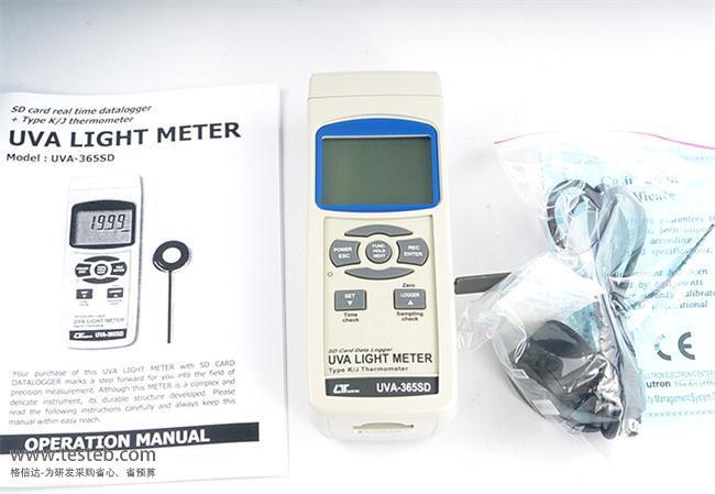 国产品牌辐照度计UVA-365SD