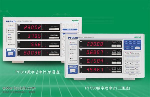远方EVERFINE数字功率计PF330
