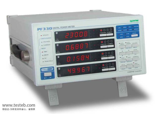 远方EVERFINE PF330数字功率计