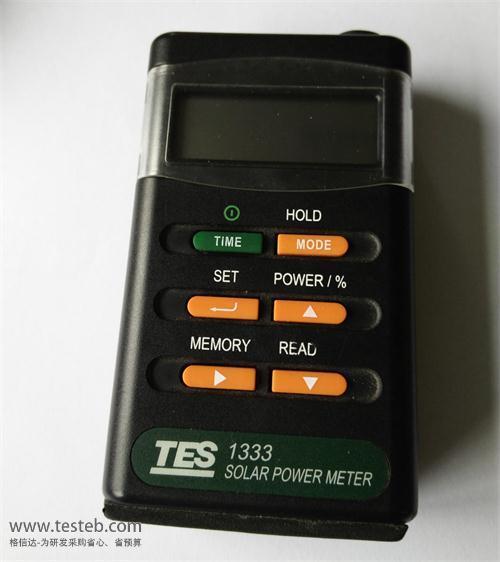 泰仕TES辐照度计TES-1333