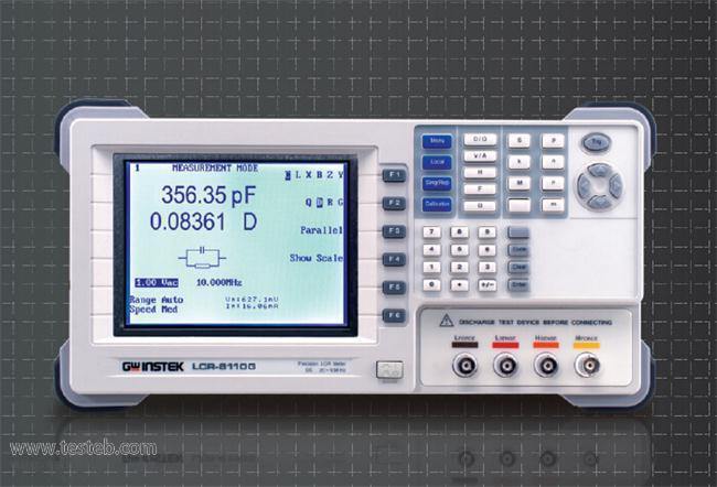 固纬GWINSTEK LCR8110GLCR测试仪/电桥表
