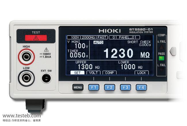 日置HIOKI内阻/欧姆电阻计ST5520