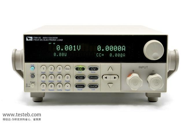 艾德克斯ITECH直流电子负载IT8912E