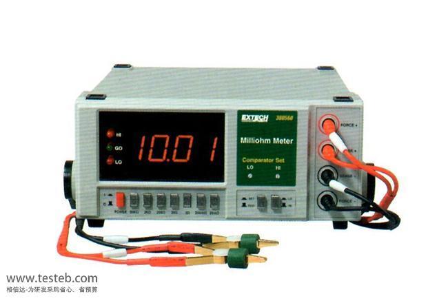 美国Extech内阻/欧姆电阻计380562
