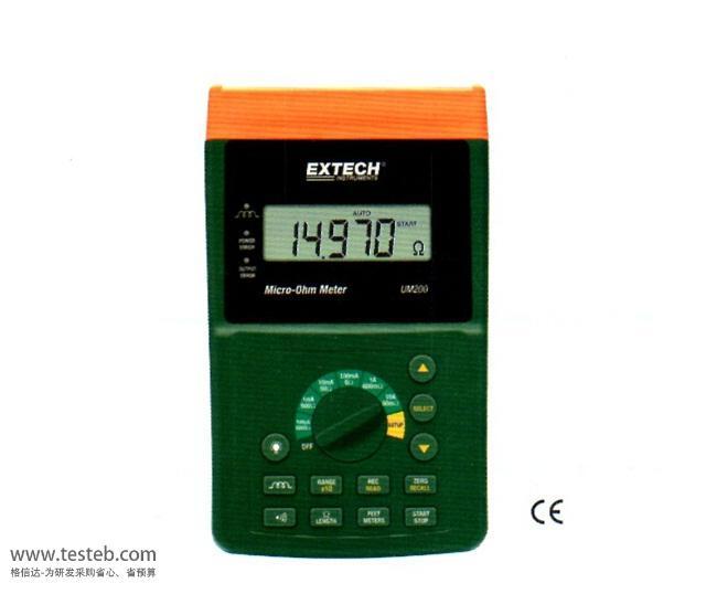 美国Extech内阻/欧姆电阻计UM200