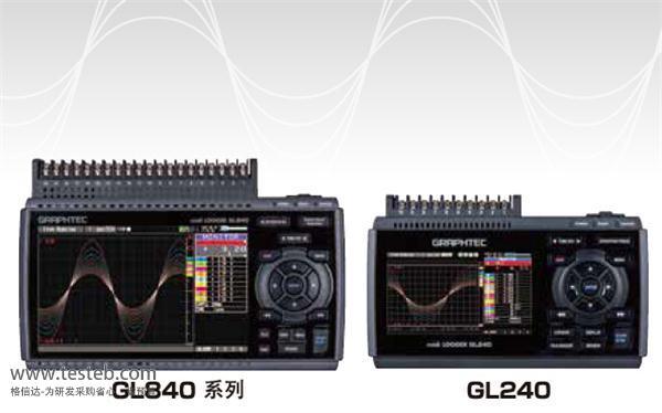 图技Graphtec数据采集器/温度记录仪GL840-WV