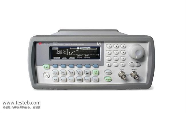 是德科技 安捷伦Agilent信号发生器/信号源33220A