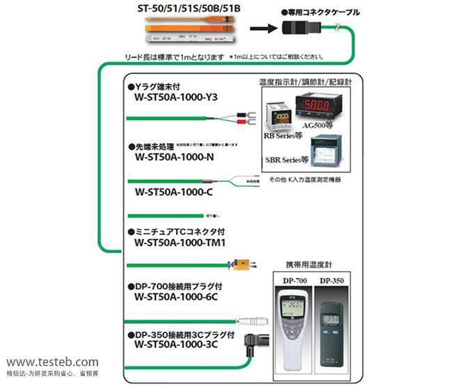 理化RKC热电阻/热电偶ST-50