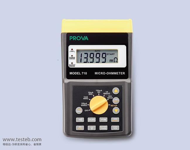 泰仕TES内阻/欧姆电阻计PROVA710
