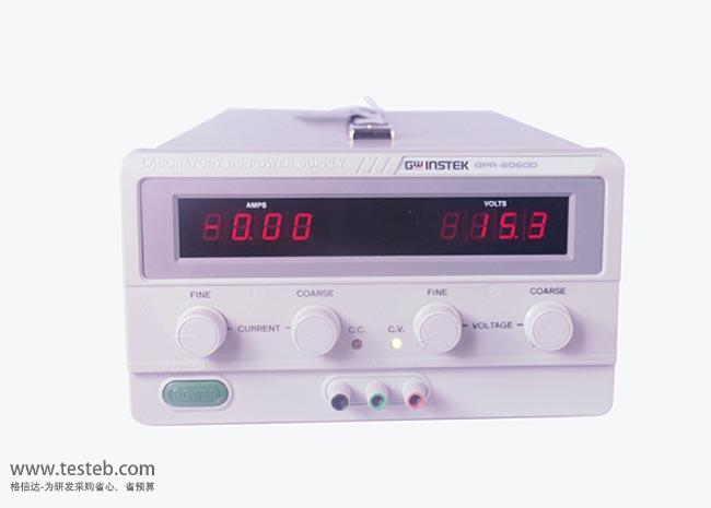 固纬GWINSTEK GPR-6060D直流电源