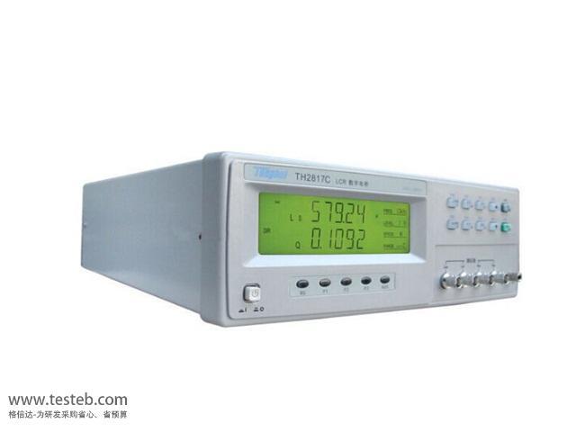 同惠TonghuiLCR测试仪/电桥表TH2817C