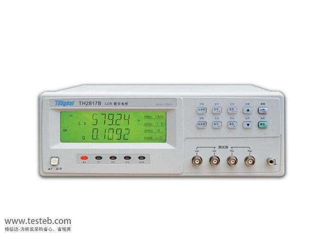 同惠Tonghui TH2817CLCR测试仪/电桥表
