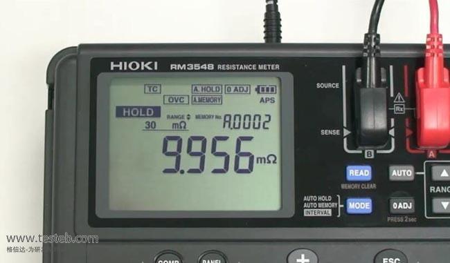 日置HIOKI内阻/欧姆电阻计RM3548