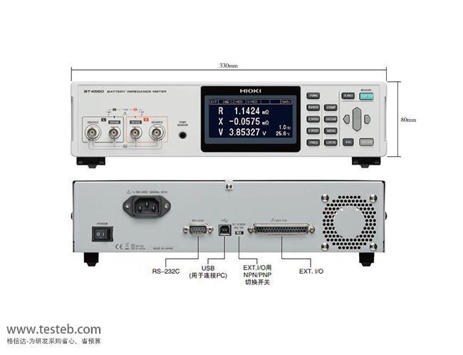 日置HIOKI内阻/欧姆电阻计BT4560