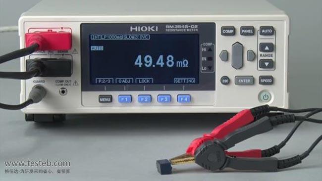 日置HIOKI内阻/欧姆电阻计RM3545-01