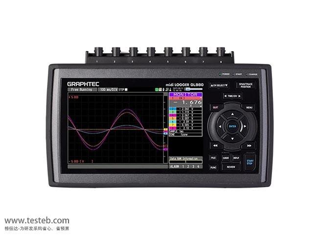 图技Graphtec GL980数据采集器/温度记录仪