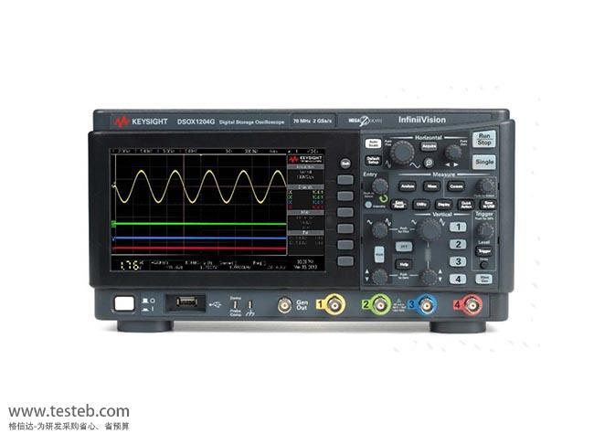是德科技 安捷伦Agilent DSOX1204G数字示波器