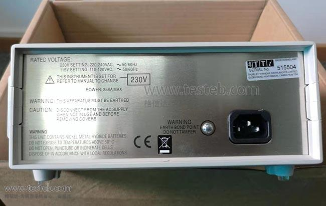 英国TTi内阻/欧姆电阻计BS407