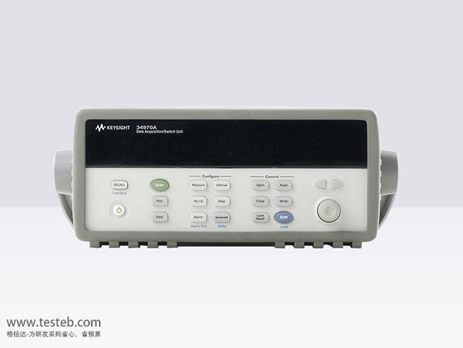 是德科技 安捷伦Agilent Agilent-34970A数据采集器/温度记录仪