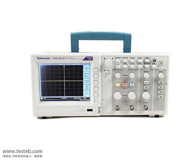 泰克Tektronix示波器与探头TDS2012C
