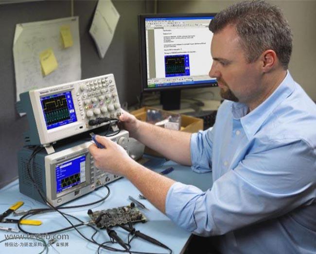 泰克Tektronix示波器与探头TDS2024C