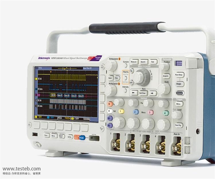 泰克Tektronix示波器与探头MSO2014B