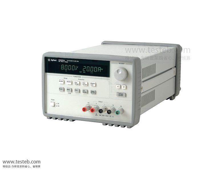 是德科技 安捷伦Agilent仪用电源E3633A