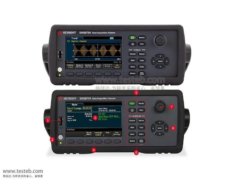 是德科技 安捷伦Agilent数据采集器/温度记录仪DAQM901A