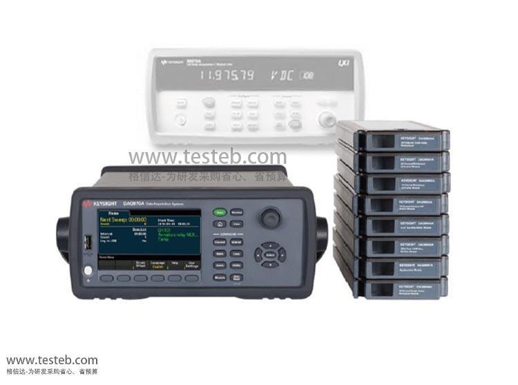 是德科技 安捷伦Agilent数据采集器/温度记录仪DAQM900A